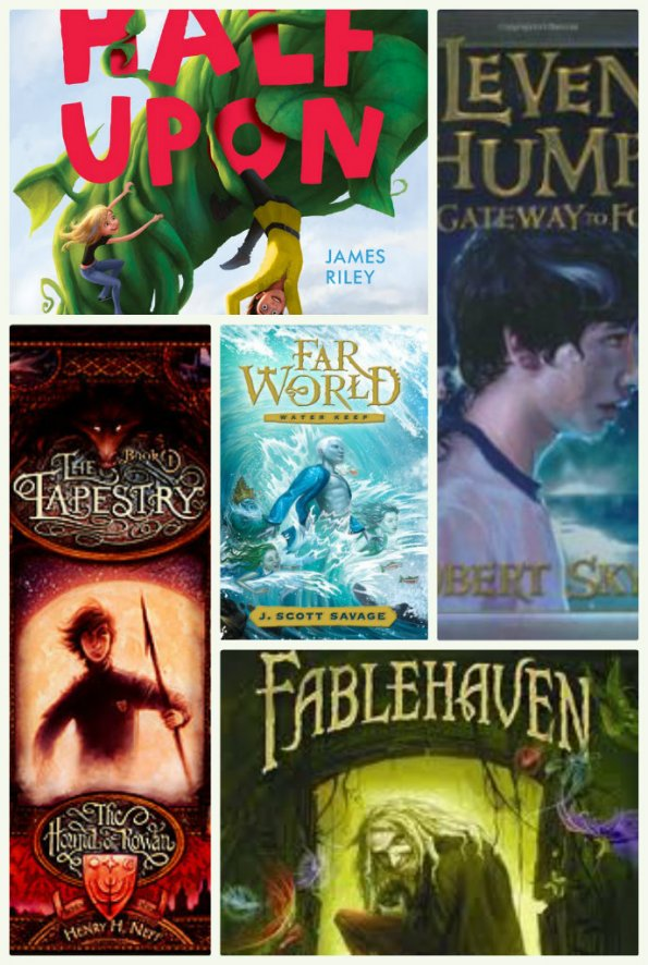 Fantasy and adventure books your tween boy or girl will love