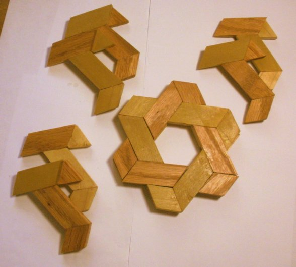 Star of David puzzle (2) - by patchwoods @ LumberJocks.com