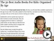 The 50 Best Audio Books For Kids: …