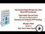 The Best HYIP Investing Book New 2012 150 …